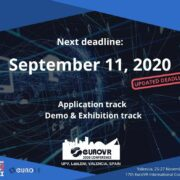 EuroVR 2020 Conference: Application and Demo & Exhibition Tracks