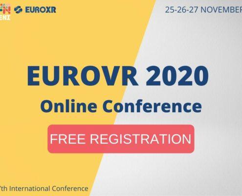EuroVR 2020 Free registration